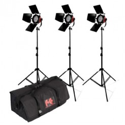 StudioKing Halogeen Video Set TLR800-3 Dimbaar