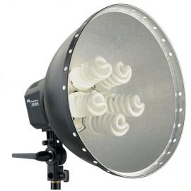 Falcon Eyes Lamp + Reflector 40cm LHD-5250F 5x28W