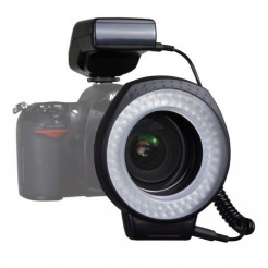 Falcon Eyes Macro Ringlamp met Flitser MRC-80FV