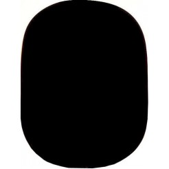 Linkstar Achtergrond Board R-1482B 02 Zwart 148x200 cm