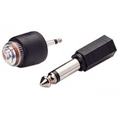 Linkstar Plug-In Sensor PS-35 3,5 mm met 6,3 mm Adapter