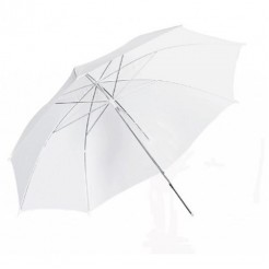 StudioKing Paraplu UBT102 Diffuus Wit 120 cm